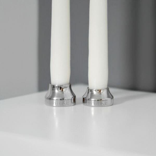 Ljusstake Piccolo No.1, Liten silver
