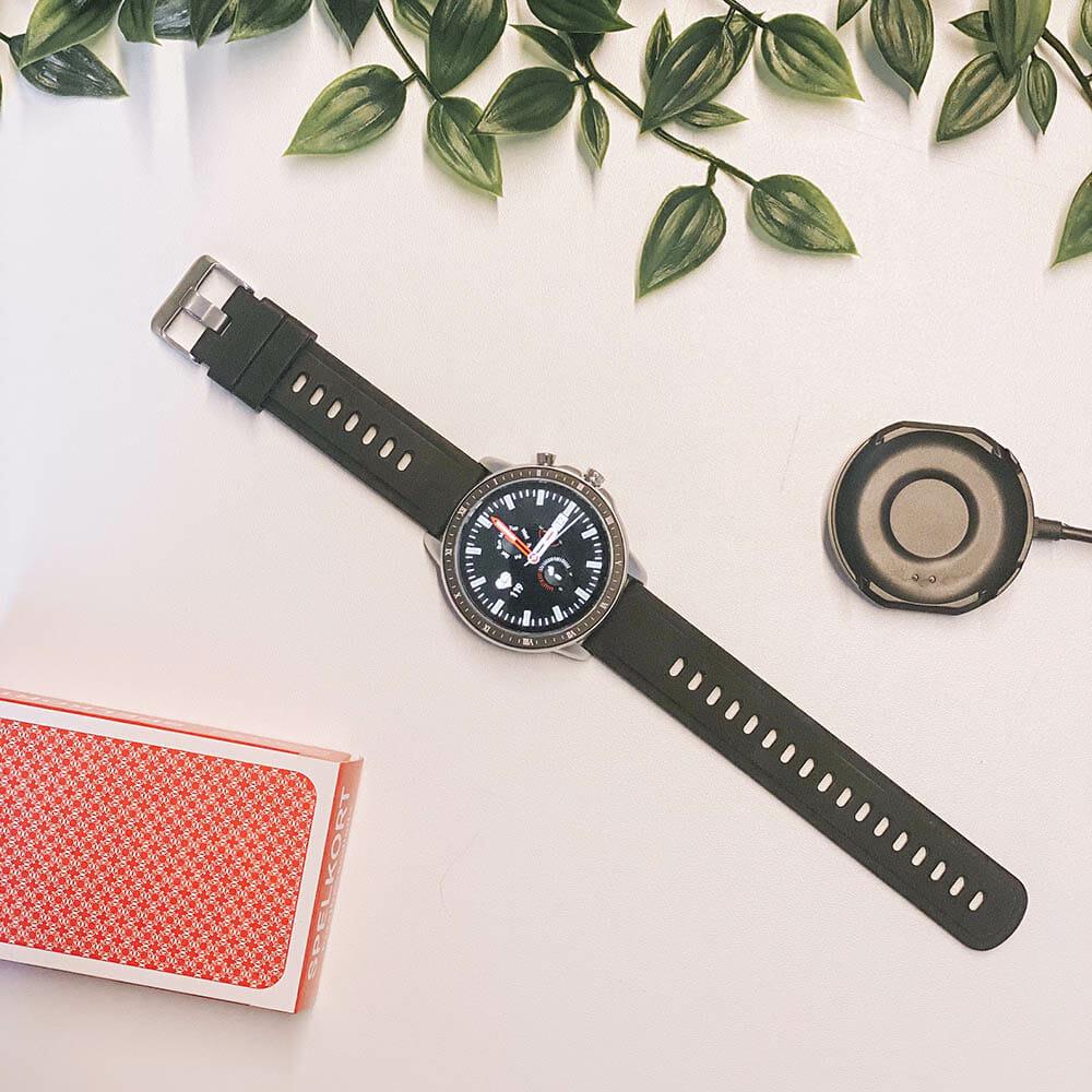 SX23 Smartwatch Vattentät Sport Pro Svart