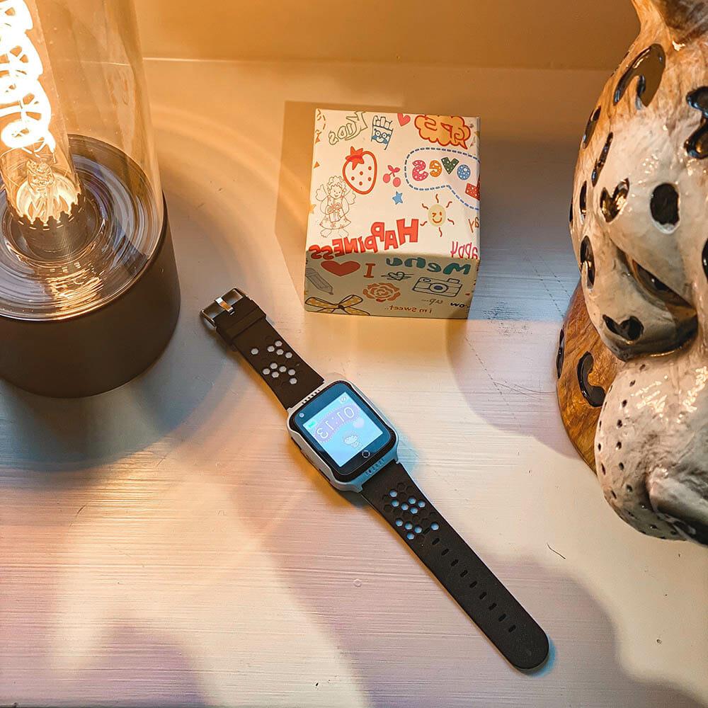 Smartklocka för barn med GPS Blå