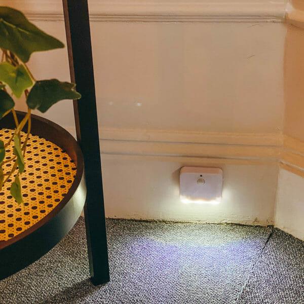 Nattlampa LED med rörelsesensor 2-pack