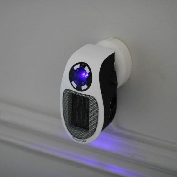 Portabel värmare med fjärrkontroll 500 W