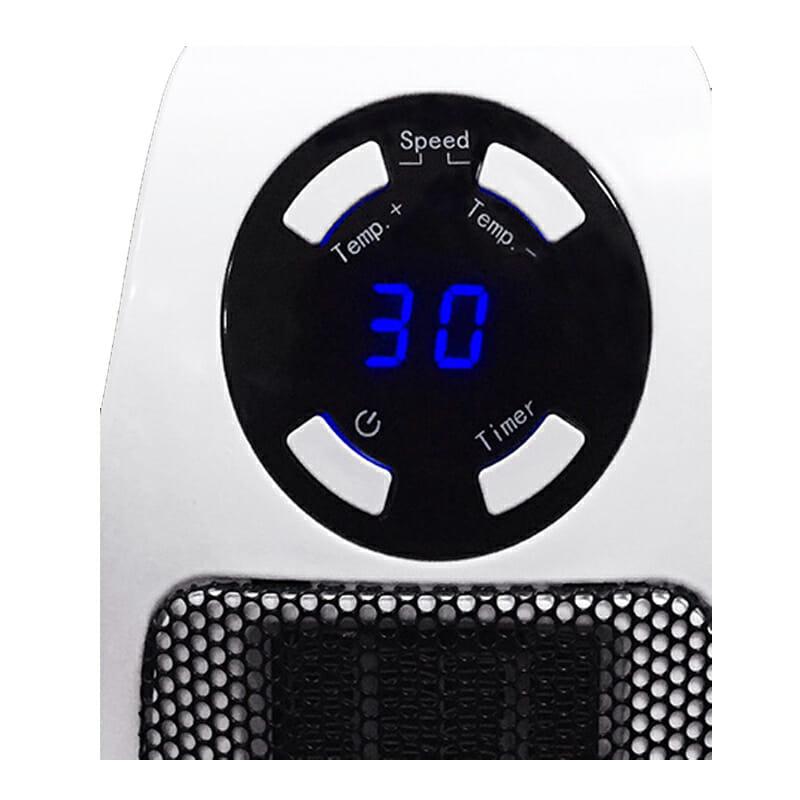 Portabel värmare med fjärrkontroll