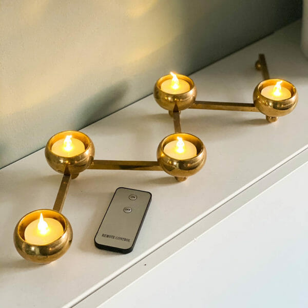LED-värmeljus fjärrkontroll (12-pack)