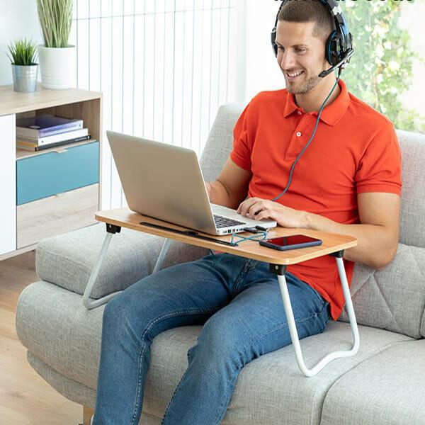 Hopfällbart laptopbord