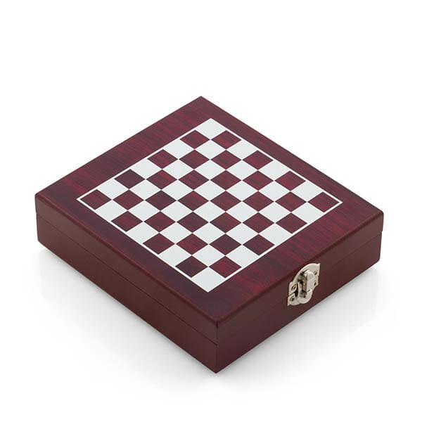 Lyxigt schackbräde med vinset