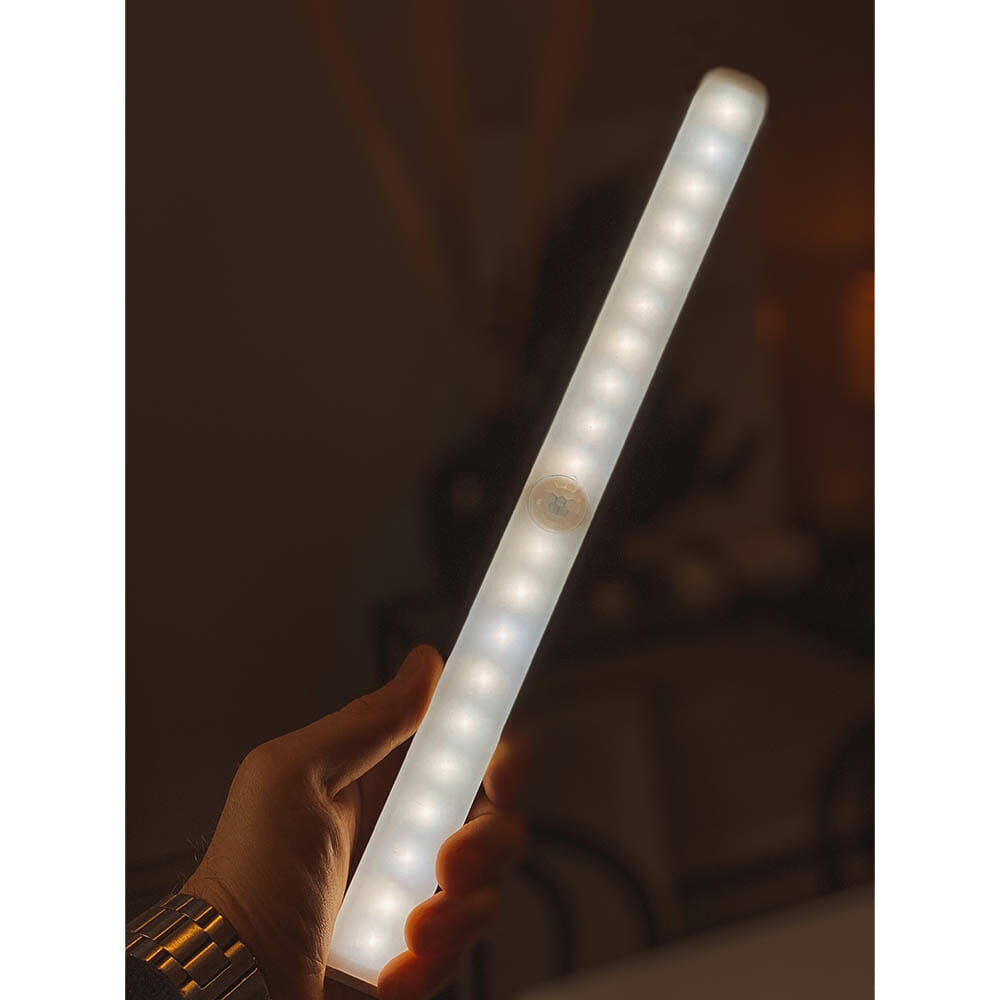 LED-belysning med magnet (uppladdningsbar)