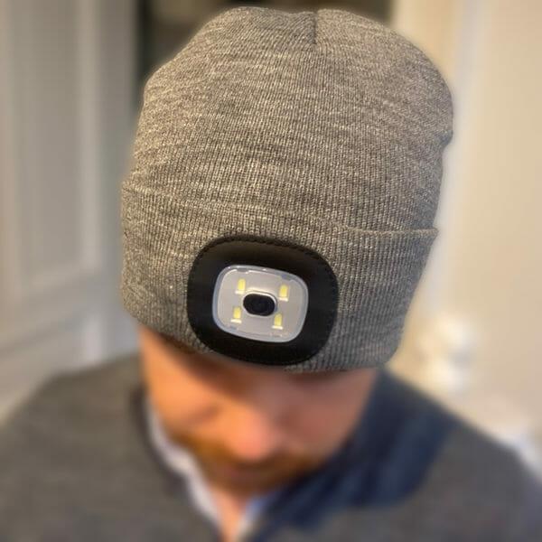 LED-mössa uppladdningsbar